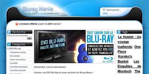 DVD blu ray à gogo