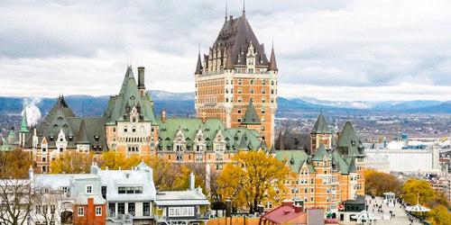 Des vacances au Québec en amoureux